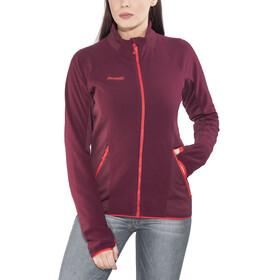 Bergans Cecilie Fleece Jacket Women Dark Cherry/Strawberry